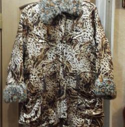 Χειμερινό σακάκι γούνας