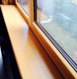 pencere pervazına 40 mm A sınıfı çam