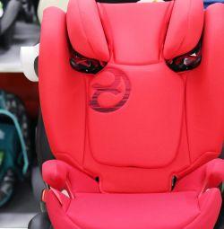 Araba koltuğu Cybex Solution M-Fix 15-36 kg'dan itibaren