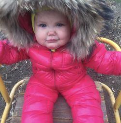 Moncler baby jumpsuit