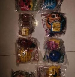 McDonald's toys from Thailand and Malaysia