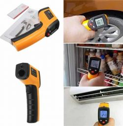 Infrared thermometer, pyrometer