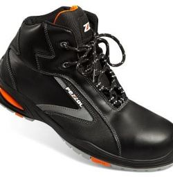 Boots leather Le Mans Orange