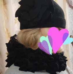 Нова шапки і шарф-снуд