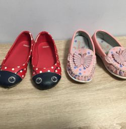 Ballet shoes for children 22-23 size