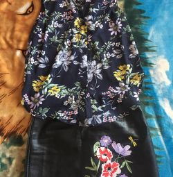 Φούστα και μπλούζα H & M