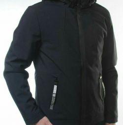Jachetă pentru bărbați (35% bumbac, 65 poliester)
