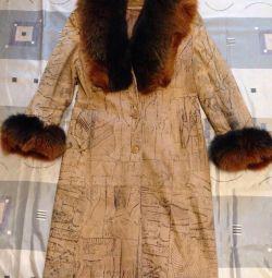 Blana de nubuc de haină 44-46