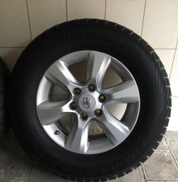 Winter tires R 17 for Toyota Land Cruiser