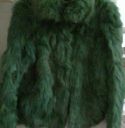 Palton scurt de blană