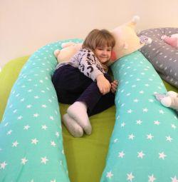 Подушка для беременных серая в наличии
