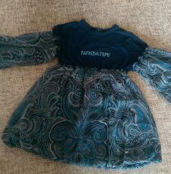 Φόρεμα - ένα χιτώνιο για ένα κορίτσι. Patrizia Pepe.