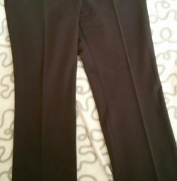 Straight imperial trousers