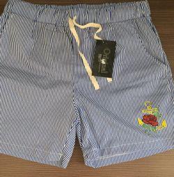 Shorts cu dungi