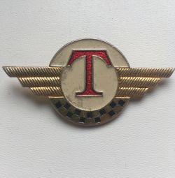 Insigna șoferului de taxi URSS