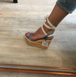 Παπούτσια Zara σφήνα