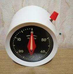 Ρολόι για την κουζίνα, με χρονοδιακόπτη, Amber, USSR