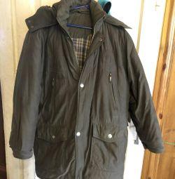 Winter warm jacket on synthetic winterizer 48-50r