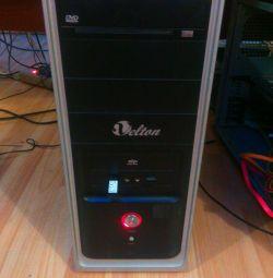Υπολογιστής παιγνίου 4x4GHz 6GB GTX550 192bit οθόνη