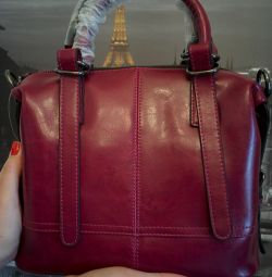 Bag Lorenzo Ricci Burgundy new original