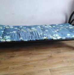 Bed with a mattress, urgently! Bargain!