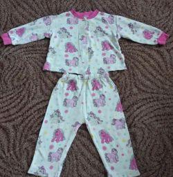 Pajamas up to 1.5 years