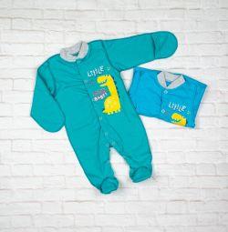 Человечки на новорожденных хлопок 40.63.2