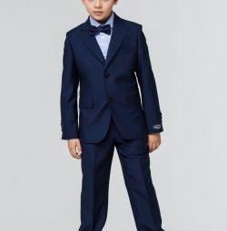 новый с бирками школьный костюм теино синий
