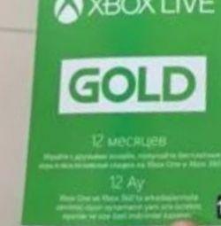 Xbox gold 12 месяцев