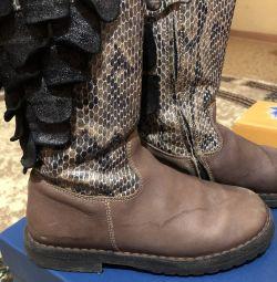 Çocuk deri çizme Zecchino d'oro
