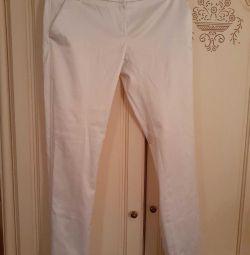 Pantaloni satinati Italia.