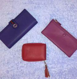 Два гаманця і візитниця