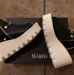 Sandale din piele naturală nouă
