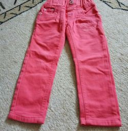 Turkish jeans for thin, 98cm