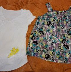 2 блузки для беременных летние