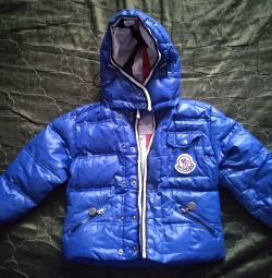 3-4 yaş erkek ceket F. Moncler