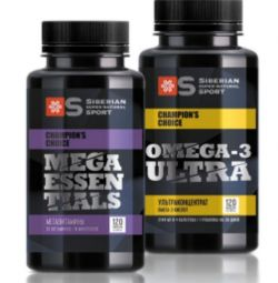 Alimentație sportivă Megavitamine + Omega-3 ultra