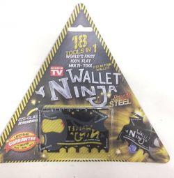 Portofel Multitalule Ninja 18 in 1