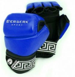 BERSERK PANKRATION APPROVED UWW BLUE GLOVES (7OZ)