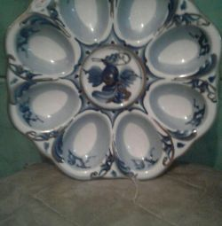 Bulaşık Paskalya porselen el yapımı.