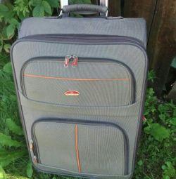Suitcase on wheels