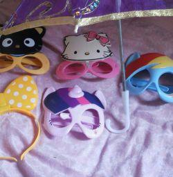 ochelari de desene animate pentru fete