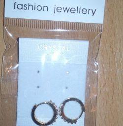 Σκουλαρίκια κοσμήματα απομίμησης