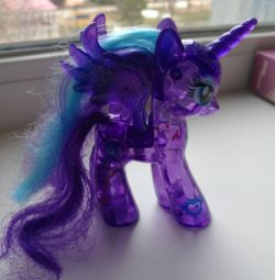 Pony glowing