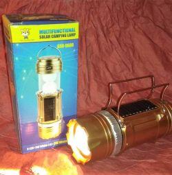 Фонарь-прожектор GSH-9688 кемпинговый