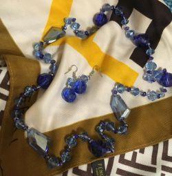 Κοσμήματα (χάντρες + σκουλαρίκια)