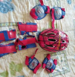 Helmet, and other protection