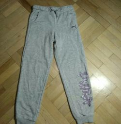 Puma pants for girls