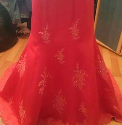Chic evening set (skirt + corset) 44r