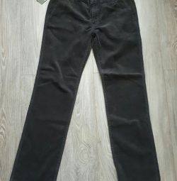 New men's velvet pants castromen p. 34